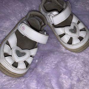 White Stride rite Sandals
